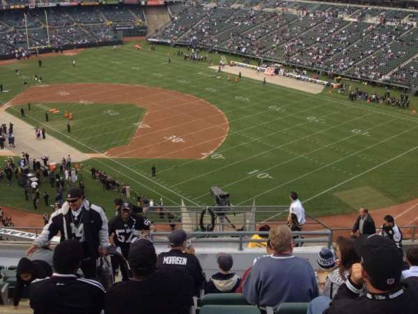 Oakland Coliseum, section: 309, row: 4, seat: 12