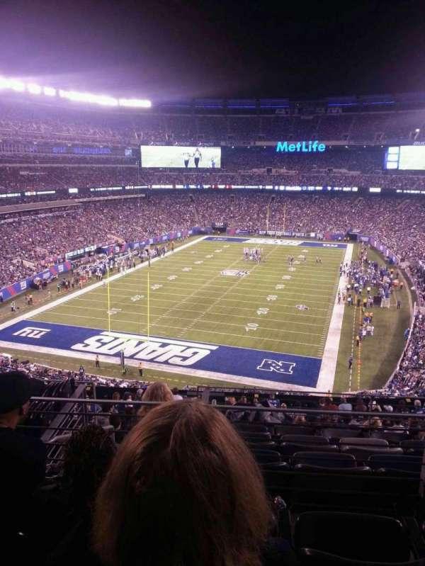 MetLife Stadium, section: 224B, row: 3, seat: 12