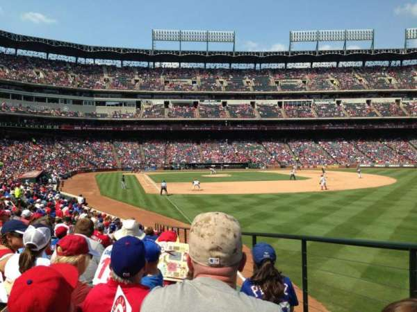 Globe Life Park in Arlington, section: 40, row: 16, seat: 13