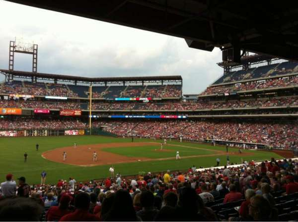 Citizens Bank Park, section: 134, row: 39, seat: 4