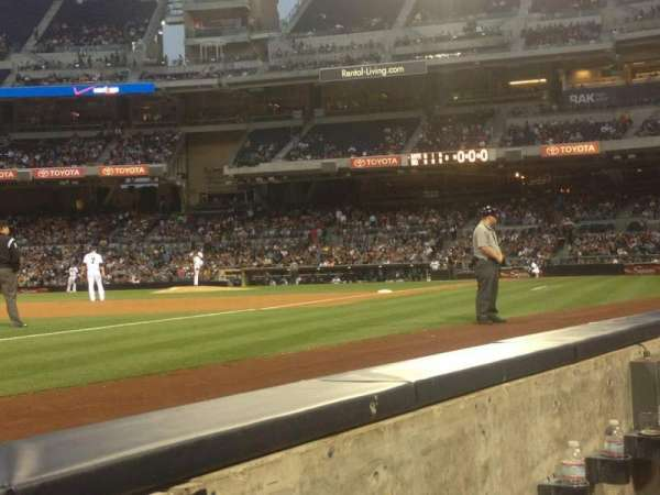 Petco Park, section: 116, row: A, seat: 6