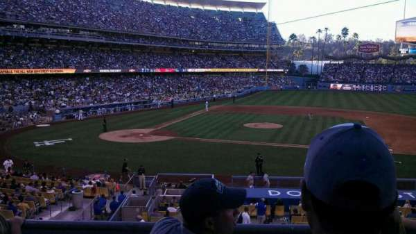 Dodger Stadium, section: 130LG, row: c, seat: 3