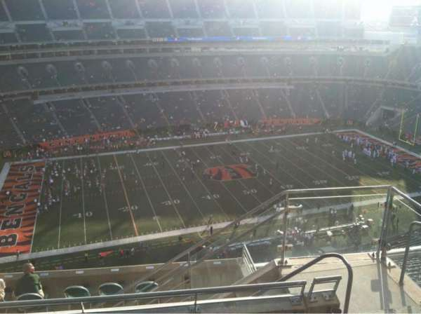 Paul Brown Stadium, section: 343, row: 16, seat: 4