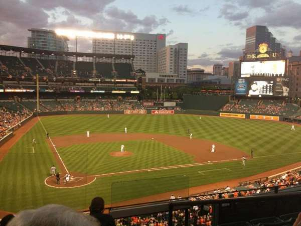 Oriole Park at Camden Yards, section: 228, row: 3, seat: 3