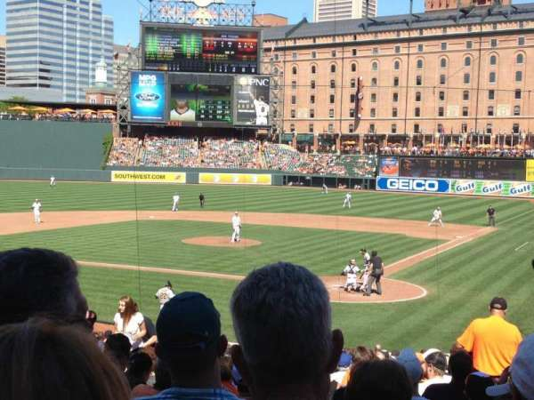 Oriole Park at Camden Yards, section: 42, row: 27, seat: 4