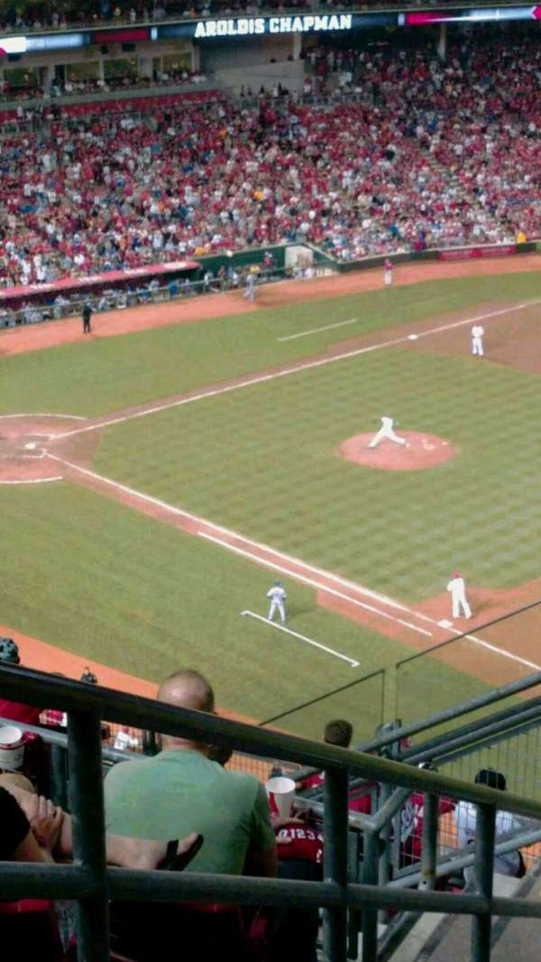 Great American Ball Park, section: 530, row: D, seat: 5