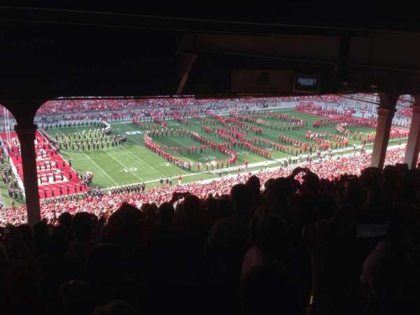 Ohio Stadium, section: 26B, row: 18, seat: 30