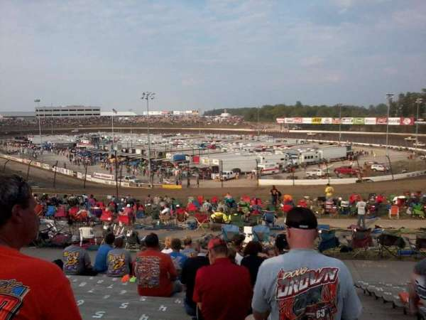 Eldora Speedway, section: SE, row: 17, seat: 1