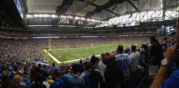 Ford Field, section: 101, row: 37, seat: 7