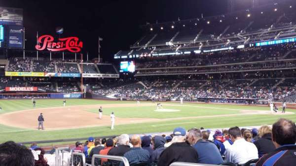 Citi Field, section: 124, row: 16, seat: 2