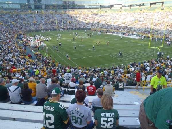 Lambeau Field, section: 134, row: 34, seat: 15