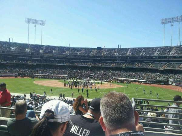 Oakland Coliseum, section: 139