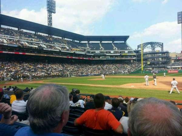 PNC Park, section: 9, row: K, seat: 7