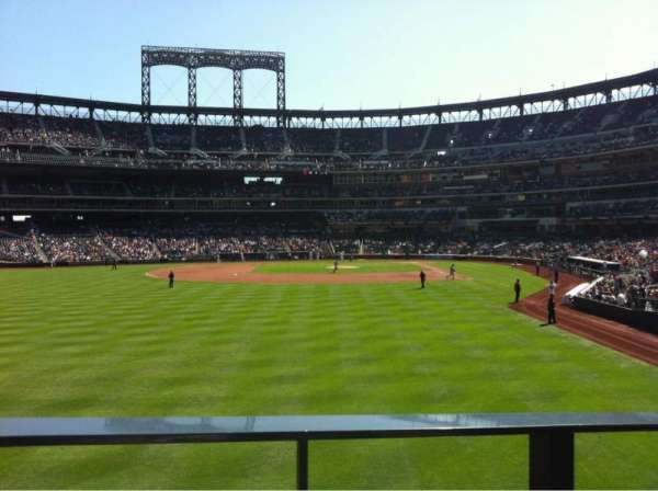 Citi Field, section: 134, row: G, seat: 13