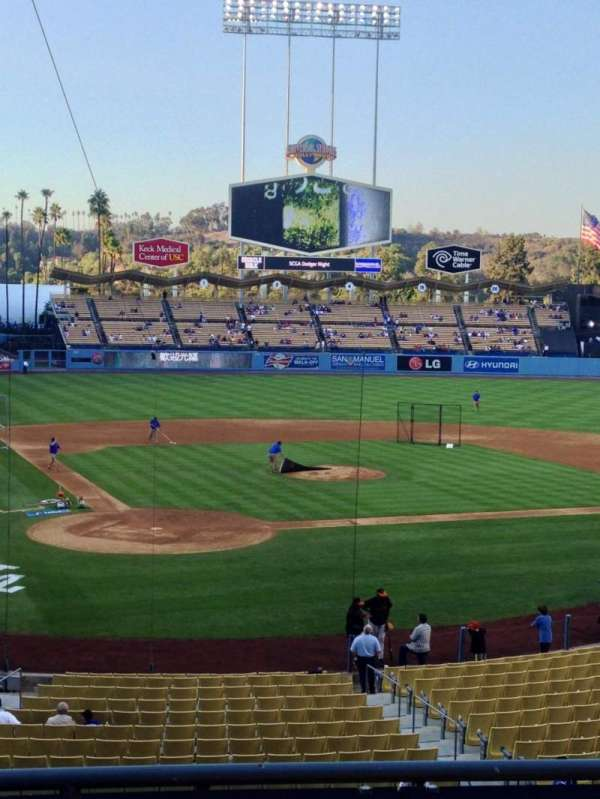Dodger Stadium, section: 114LG, row: D, seat: 1