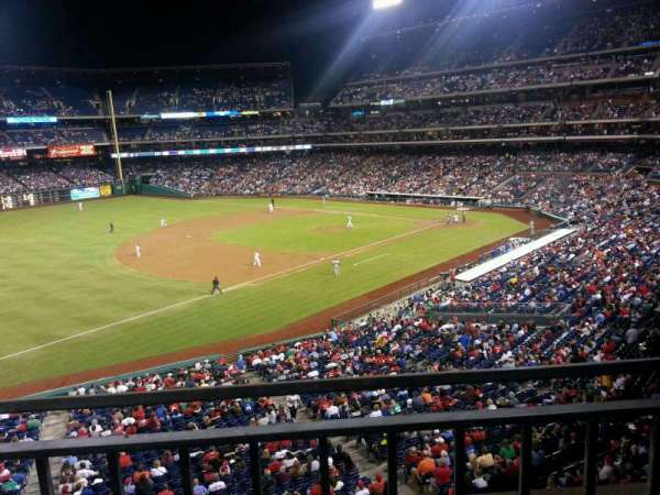 Citizens Bank Park, section: 233, row: 1, seat: 6
