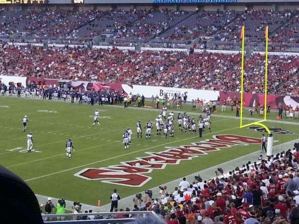 Raymond James Stadium, section: 244, row: A, seat: 6