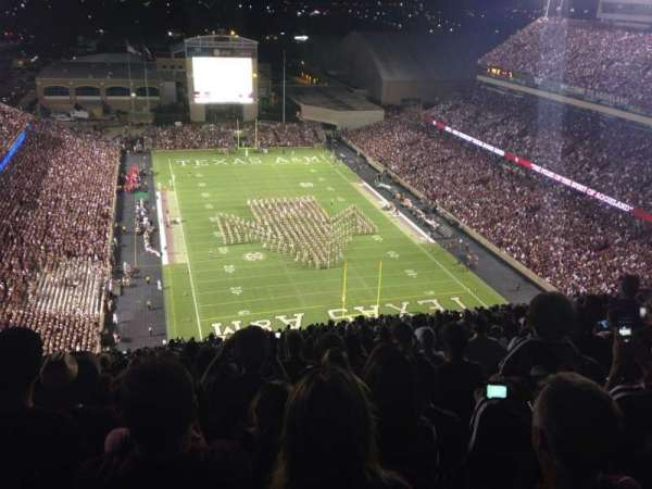Kyle Field, section: 519, row: 38, seat: 13