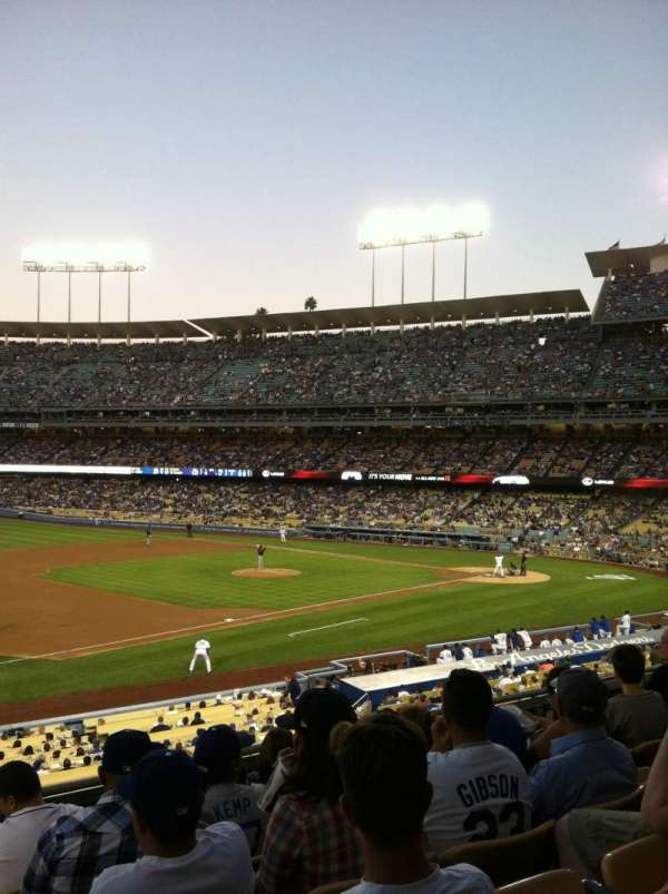 Dodger Stadium, section: 145LG, row: F, seat: 1