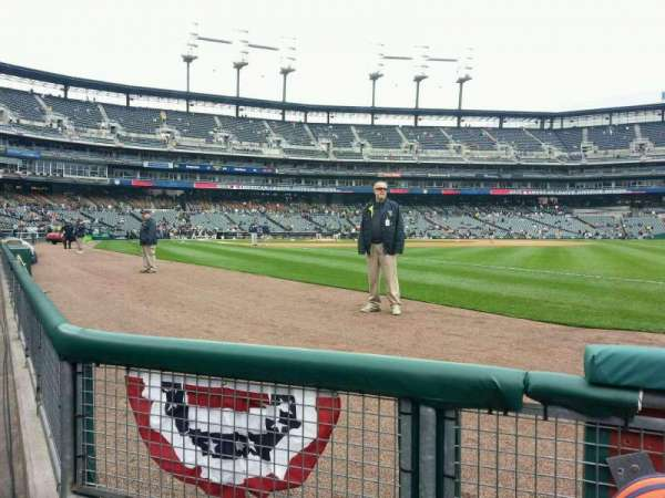 Comerica Park, section: 114, row: 2