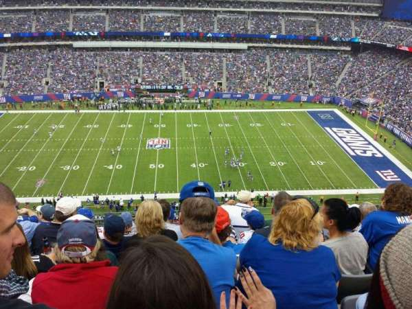 MetLife Stadium, section: 313, row: 10, seat: 16
