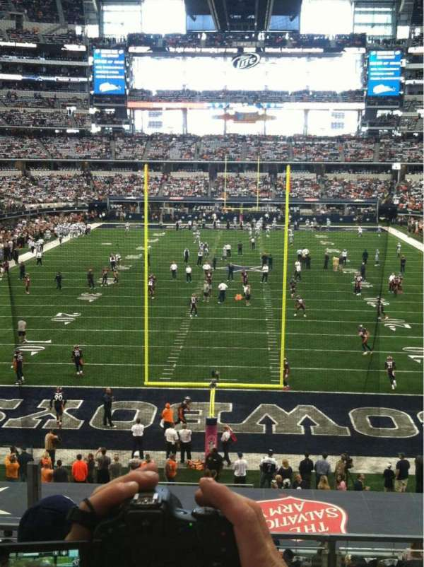 AT&T Stadium, section: 247, row: 4