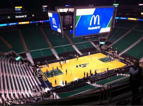 Vivint Smart Home Arena, section: 115, row: 8, seat: 15
