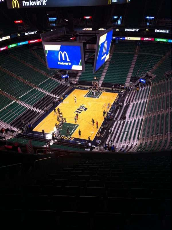Vivint Smart Home Arena, section: 119, row: 17, seat: 20