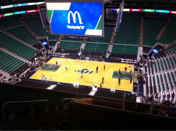 Vivint Smart Home Arena, section: 130, row: 12, seat: 5