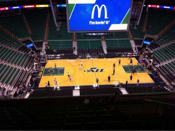 Vivint Smart Home Arena, section: 133, row: 10, seat: 4