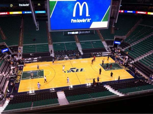 Vivint Smart Home Arena, section: 133, row: 4, seat: 10