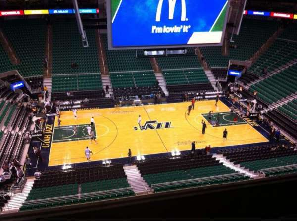 Vivint Smart Home Arena, section: 133, row: 4, seat: 13