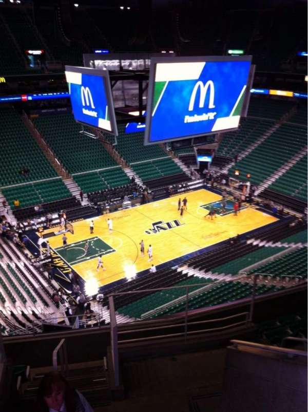 Vivint Arena, section: 136, row: 8, seat: 4