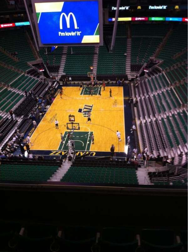 Vivint Smart Home Arena, section: 101, row: 4, seat: 7