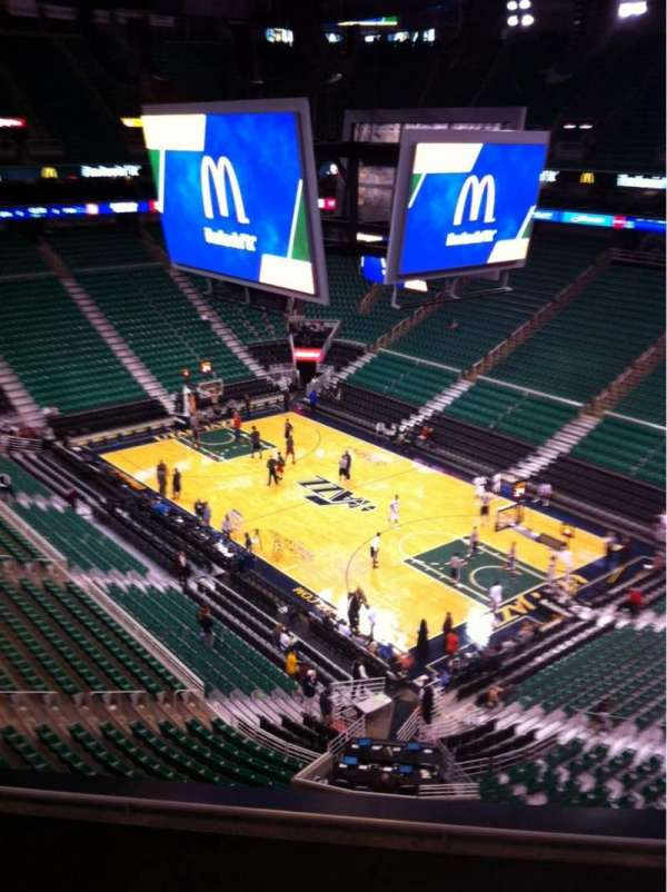 Vivint Smart Home Arena, section: 107, row: 4, seat: 3