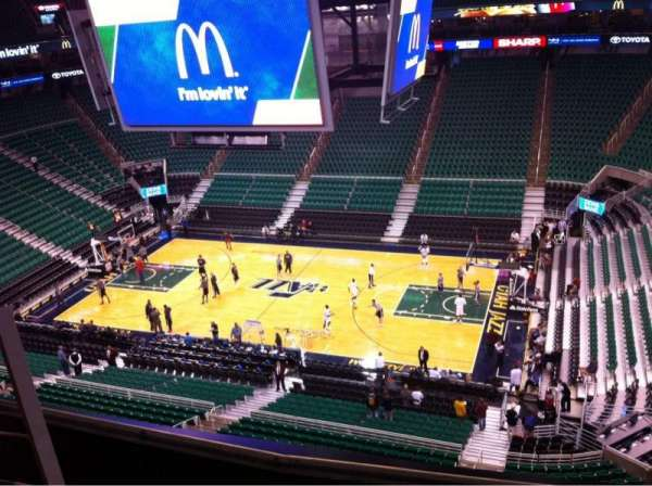 Vivint Smart Home Arena, section: 109, row: 4, seat: 15
