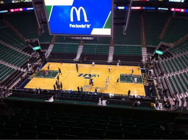 Vivint Arena, section: 111, row: 10, seat: 5