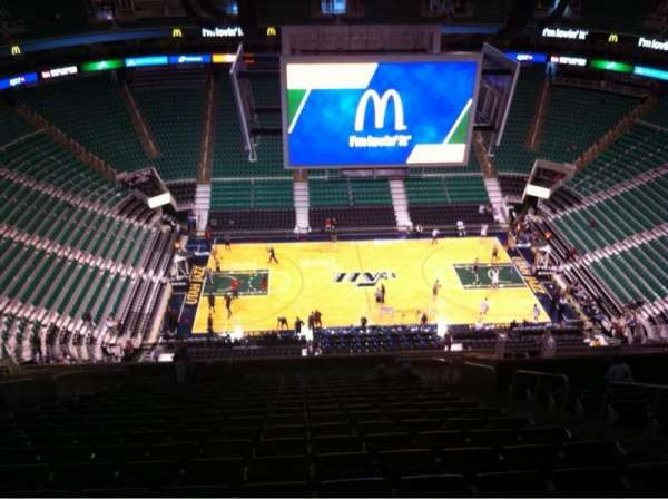 Vivint Smart Home Arena, section: 113, row: 20, seat: 6