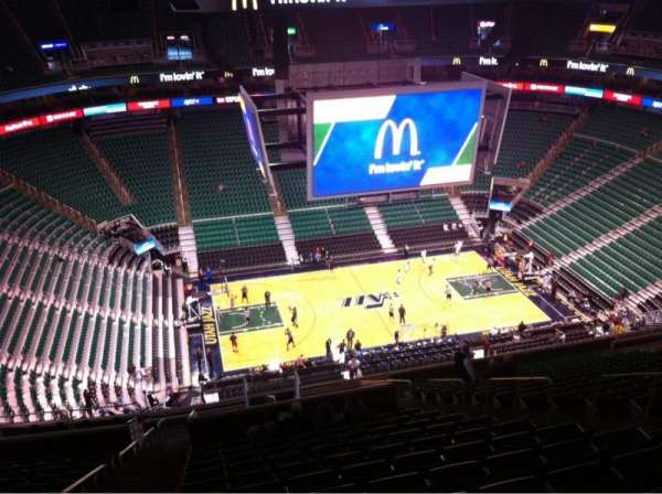 Vivint Smart Home Arena, section: 114, row: 20, seat: 8
