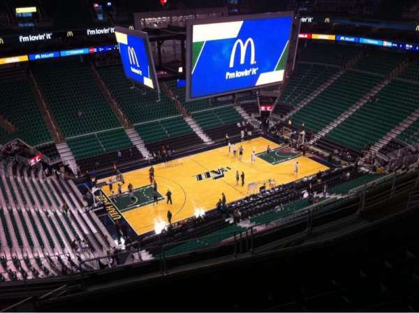 Vivint Arena, section: 115, row: 12, seat: 15