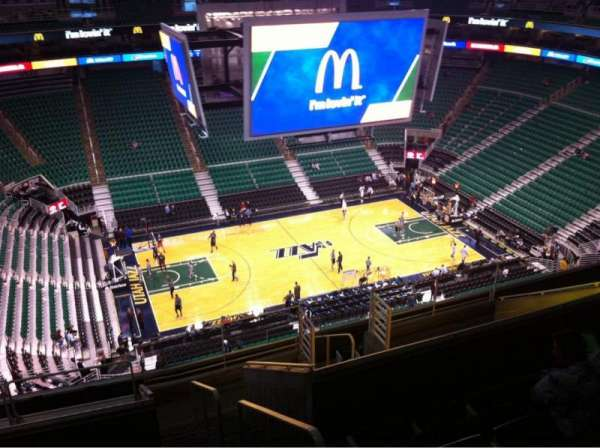 Vivint Arena, section: 115, row: 12, seat: 1