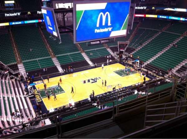Vivint Smart Home Arena, section: 115, row: 8, seat: 6