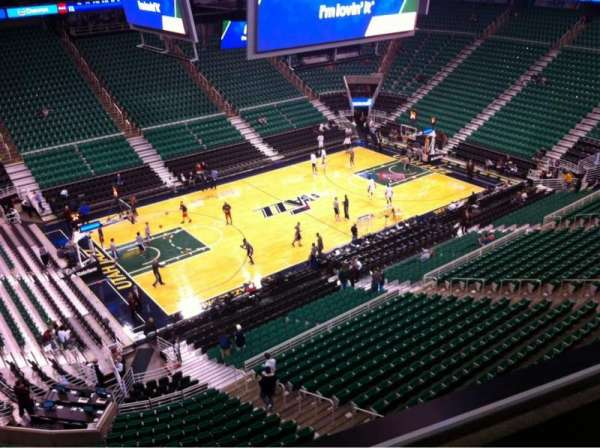 Vivint Smart Home Arena, section: 115, row: 2, seat: 20