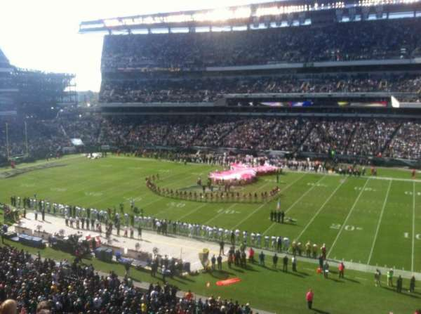 Lincoln Financial Field, section: C2, row: 16, seat: 14