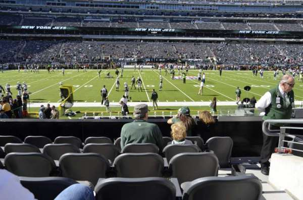 metlife stadium, section: 114, row: 6, seat: 1