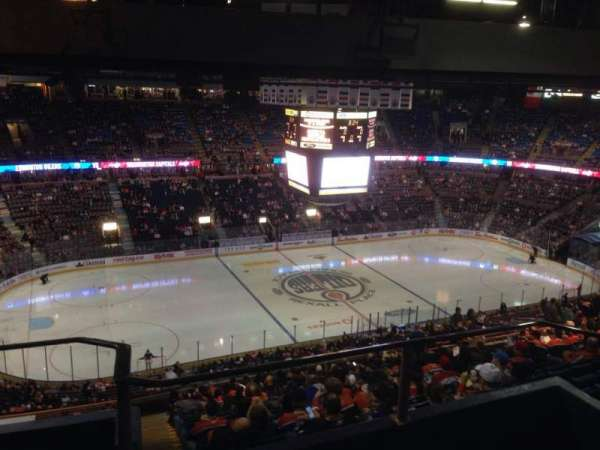 Northlands Coliseum, section: 303, row: 44, seat: 11