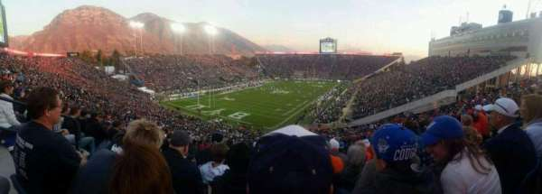 LaVell Edwards Stadium, section: 122, row: 21, seat: 35