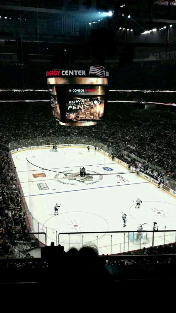 PPG Paints Arena, section: 213, row: b