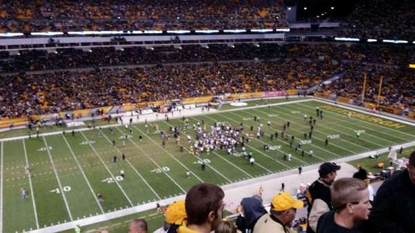 Heinz Field, section: 208