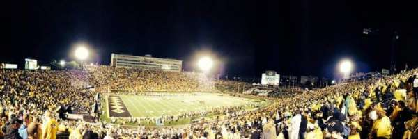 Faurot Field, section: 102